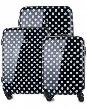 Kufry renomované firmy Madisson Sada 3v1 černá