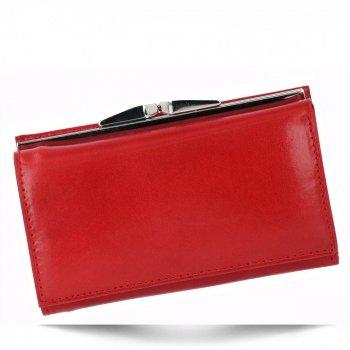 Elegantní Dámská Kožená Peněženka značky Vera Pelle Červená