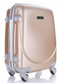 Palubní kufřík Ultra Light Or&Mi 4 kolečka Gold
