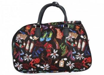 Cestovní Taška Kufřík Medium Or&Mi Shoes Multicolor - černá