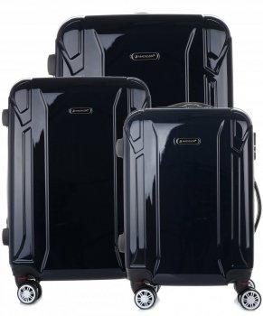 Kufry renomované firmy Madisson Sada 3v1 tmavě modrá