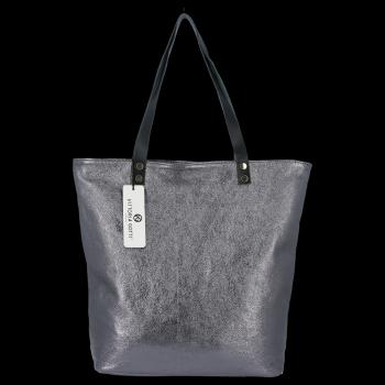 Módní Kožené Dámské Kabelky Shopper Bag Vittoria Gotti Iron
