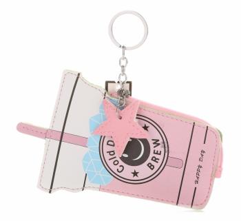 Přívěšek na klíče ke kabelce cold Drinks vícebarevný