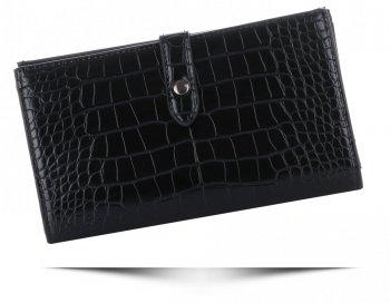 Dámská Peněženka XL Diana&Co Firenze motiv aligátorů černá