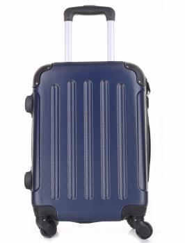 Palubní kufřík italské firmy Or&Mi 4 kolečka Tmavě modrá