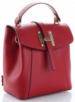 elegantní kabelka Batůžek Vittoria Gotti Bordová