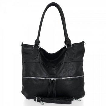 Univerzální Dámská Kabelka Herisson Shopper Bag Černá