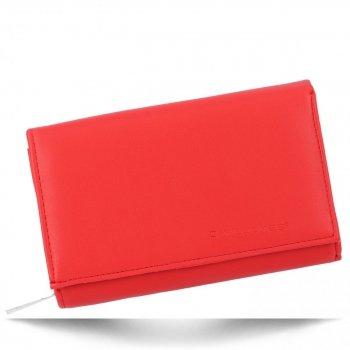 Univerzální Dámská Peněženka David Jones Červená