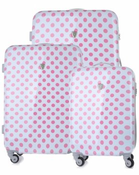 Kufry renomované firmy Madisson Sada 3v1 bílé