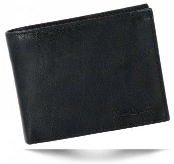 Pierre Cardin Elegantní Pánská Kožená Peněženka Černá