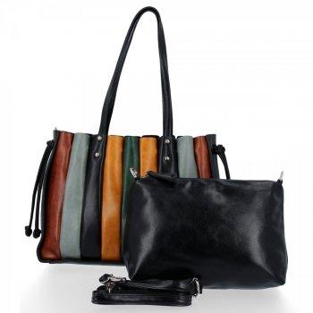 Módní Dámské Kabelky Shopper Bag s kosmetičkou David Jones Černá