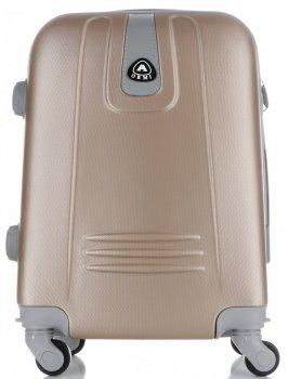 Palubní kufřík Or&Mi 4 kolečka zlatá