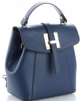Elegantní Kabelka Batůžek Vittoria Gotti  tmavě modrá