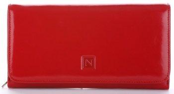 Dámská kožená peněženka Nicole červený