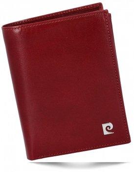 Kožená peněženka Unisex Pierre Cardin bordový
