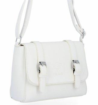 BEE BAG Dámská Kabelka Listonoška Vintage Bag Bílá