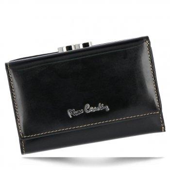 Dámská kožená peněženka Pierre Cardin černá