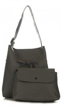 Dámské kabelky Diana&Co s kosmetickou kapsičkou Šedá