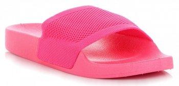 Uniwersalne Klapki Damskie firmy Ideal Shoes Fuksjowe