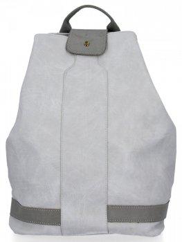 Uniwersalny Plecak Damski XXL firmy Diana&Co Jasno Szary
