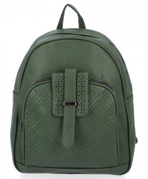 Uniwersalne Plecaczki Damskie Herisson Zielony