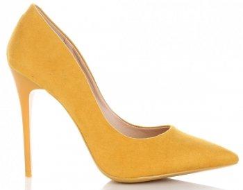 Uniwersalne Szpilki Damskie firmy Bellucci Żółte