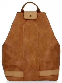 Uniwersalny Plecak Damski XXL firmy Diana&Co Rudy