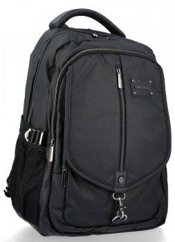 Dwukomorowy Plecak Męski w rozmiarze XL firmy David Jones Czarny
