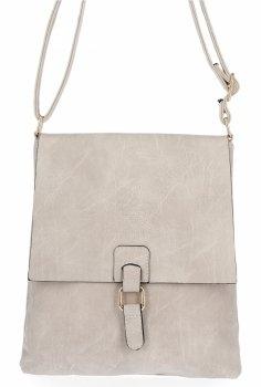 BEE Bag štýlové dámske tašky Messenger Sevilla Beige