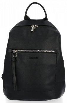 Univerzálny dámsky batoh David Jones čierny