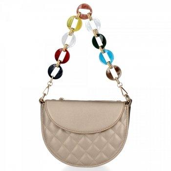 Elegantná dámska taška na posol Herisson zloty
