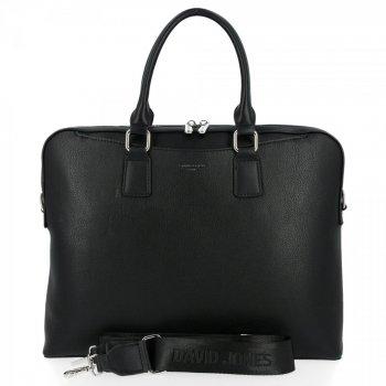 Elegantná dámska taška David Jones čierny