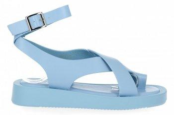 Modré dámske sandále od spoločnosti Givana