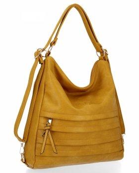 BEE BAG je univerzálna dámska taška s funkciou Juditeho žltého batohu