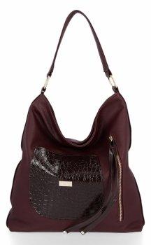 Univerzálne Dámske tašky Conci Veľkosť XL Burgundsko