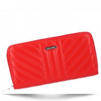 David Jones značkové módne Dámske peŘaženky Veľkosť XL Červená