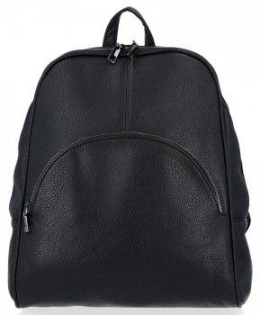 Všestranný dámsky batoh je ideálny pre každodenné nosenie David Jones čierny
