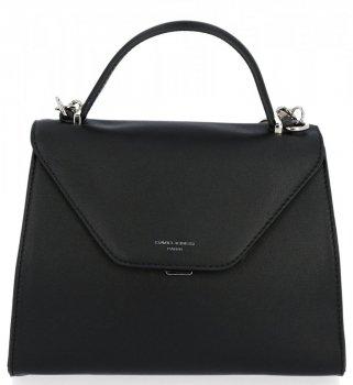 David Jones značkové kabelky dámske štýlové čierne tašky