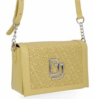 David Jones Dámske značkové Messenger taška Žltá