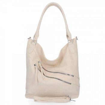 Univerzálna dámska taška XL od Herisson Firenze beige
