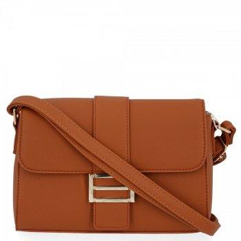 Herisson Značková dámska taška elegantná hnedá taška Messenger