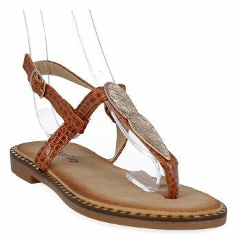 Camel módne dámske sandále od Sergio Todzi