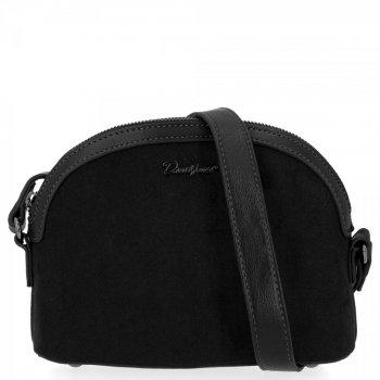 Univerzálna dámska taška na posol pre všetky príležitosti David Jones čierny