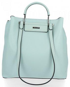Klasická dámska taška 3 priehradky od David Jones Mint