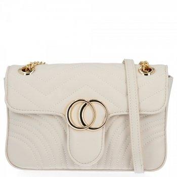 Elegantná dámska taška na messenger pre všetky príležitosti od Herisson Beige