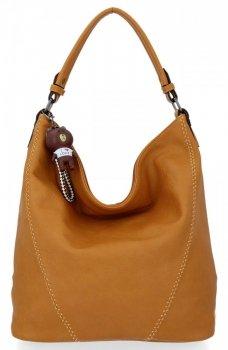 Univerzálna dámska taška Grace tašky horčica