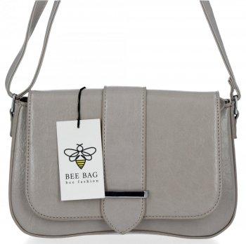 BEE Bag Firemná dámska taška na Messenger Cristina svetlo šedá