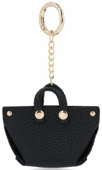 Módne ShopperBag Taška Kľúčenka Čierna