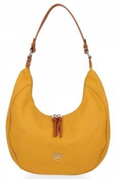 David Jones značkové univerzálne dámske ležérne tašky žlté