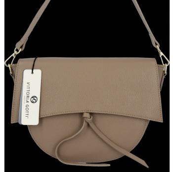 Elegantná Kožená taška na messenger od spoločnosti Vittoria Gotti vyrobená v Taliansku